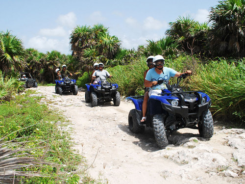 Cozumel Mexico Jungle ATV Shore Excursion Reservations